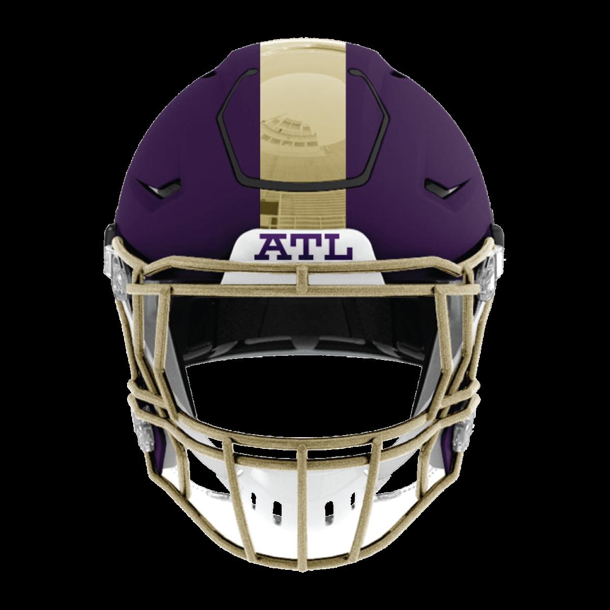 49cab8f9d3e Atlanta Legends helmet