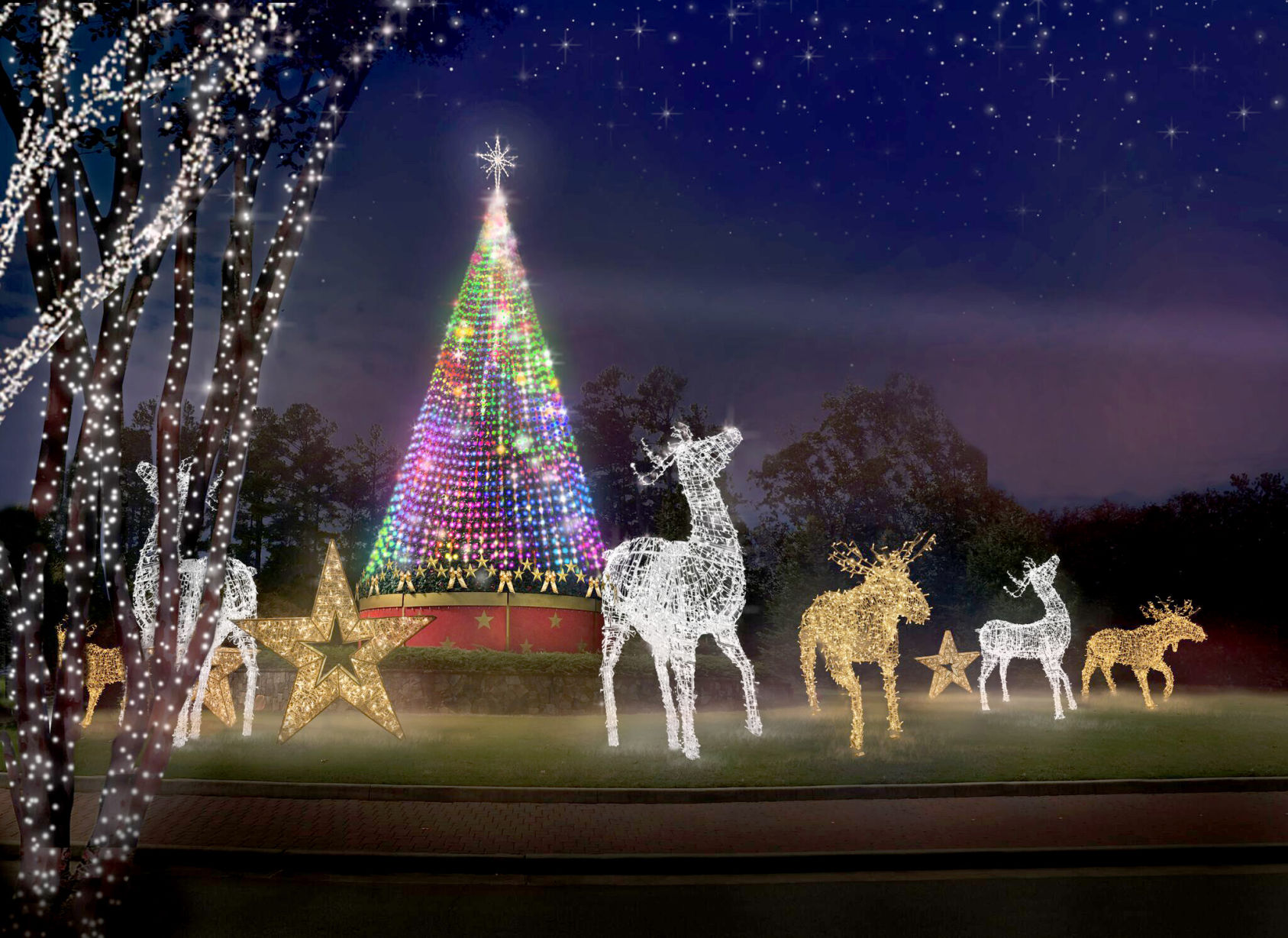 About The Sugar Land Holiday Lights