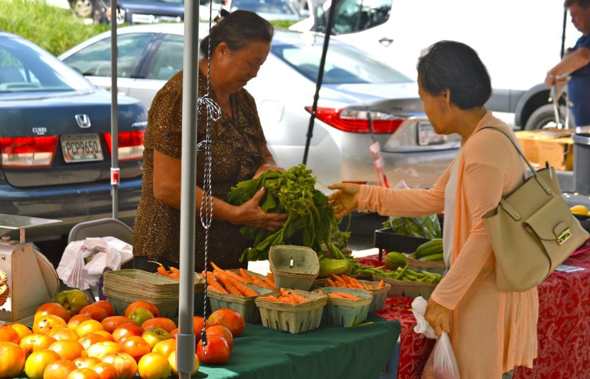 Suwanee's farmers market