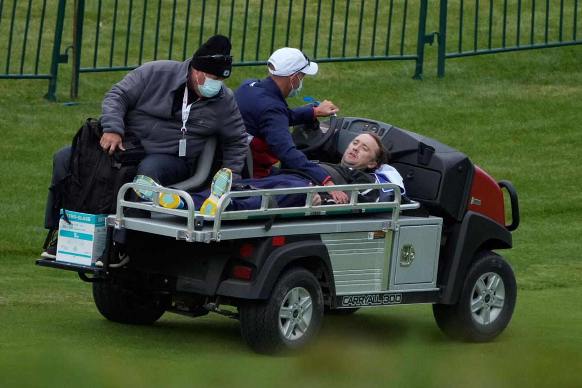 Tom Felton: Harry Potter star collapses during celebrity Ryder Cup match