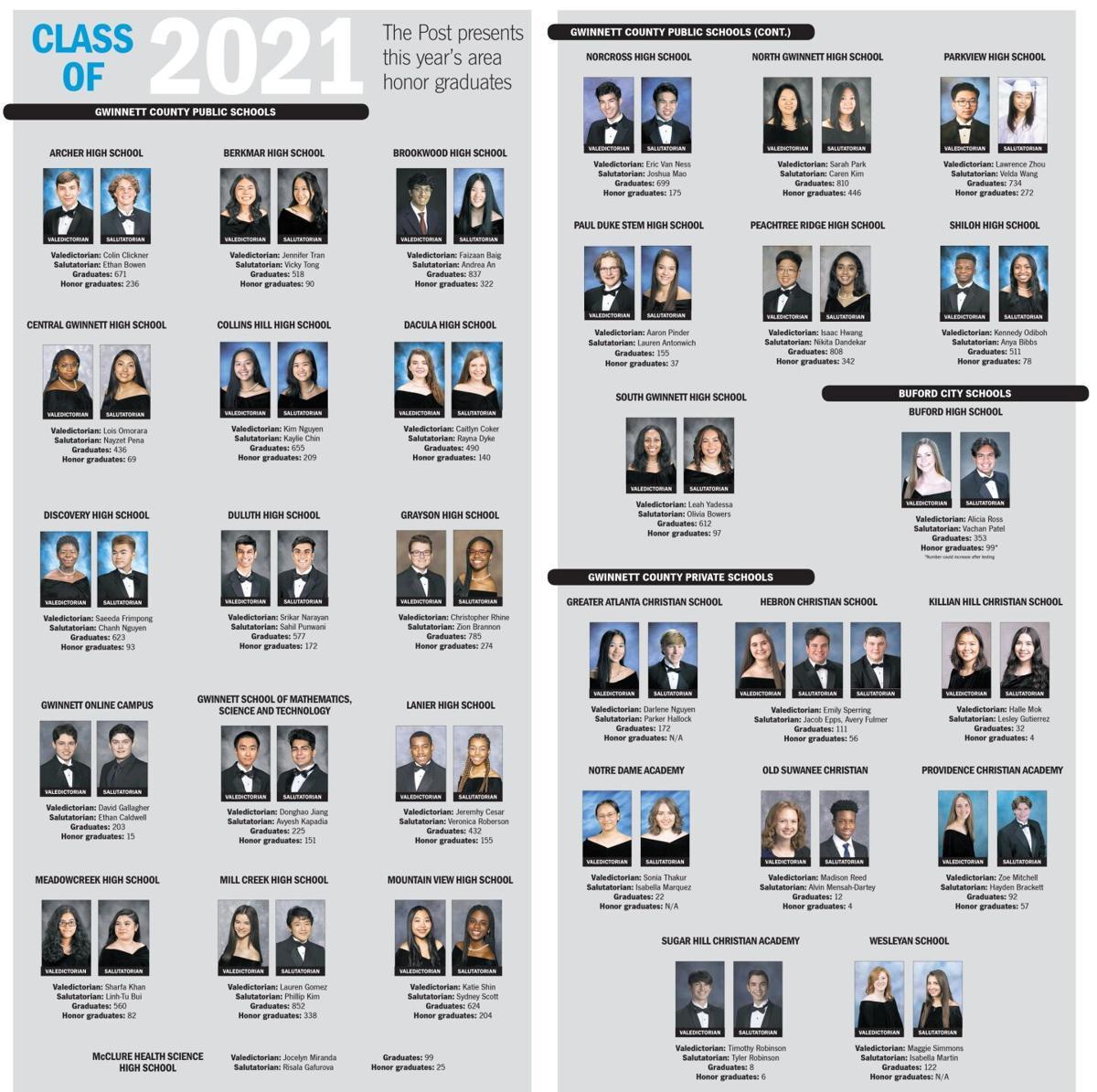 2021 Gwinnett County vals and sals