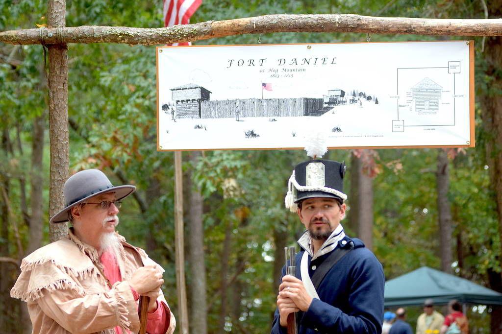 Frontier Faire officials unveiling replica Fort Daniel gate at festival Saturday