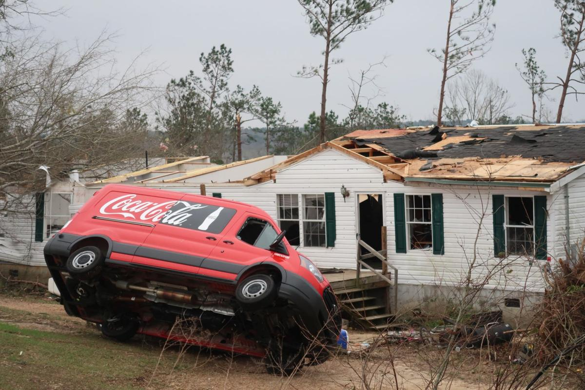 5 minutes of warning, then tornadoes so powerful they killed 23 people in Alabama
