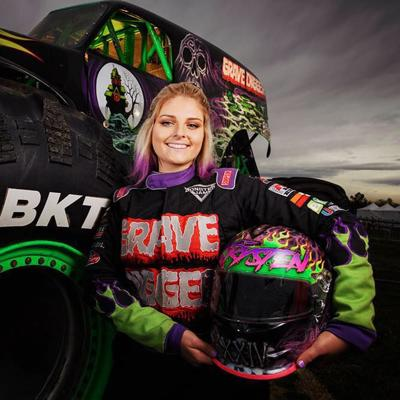 Monster Truck Driver Krysten Anderson To Host Meet And Greet At Mall Of Georgia Entertainment Gwinnettdailypost Com