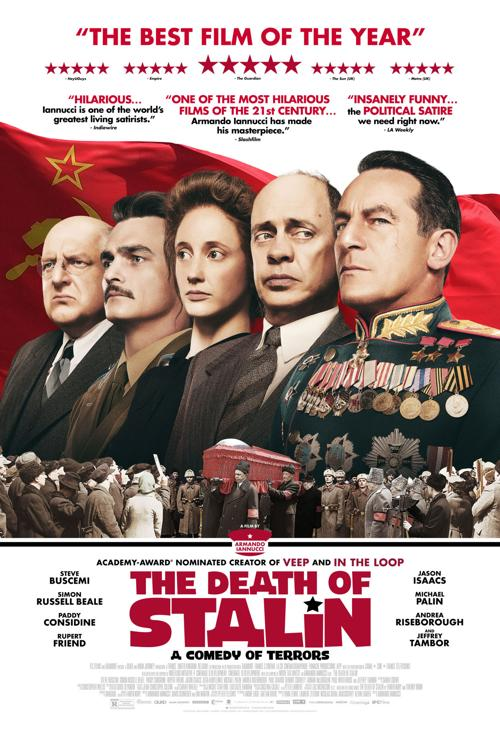 Movie Review Political Satire Death Of Stalin Brings The Laughs