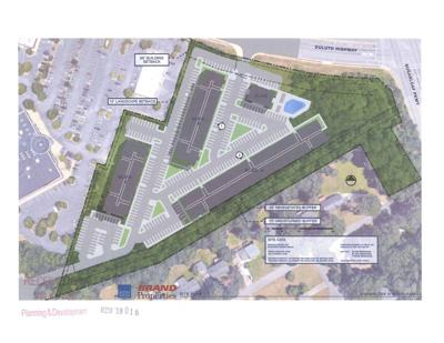 Sugarloaf Marketplace apartments site plan