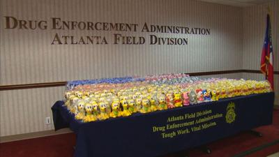 DEA: $2 million worth of meth found inside Disney figurines following Gwinnett drug bust