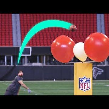 VIDEO: YouTube stars 'Dude Perfect' bring trick shots to Mercedes-Benz Stadium ahead of Super Bowl LIII