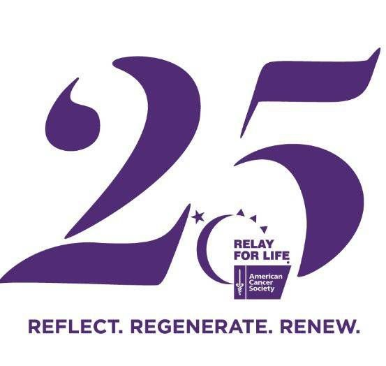 25th anniversary relay for life
