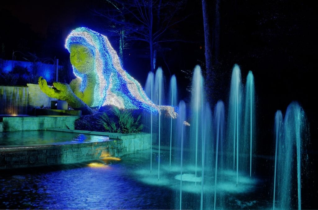 Holiday Lights Offered At Atlanta Botanical Gardens Through Jan. 9