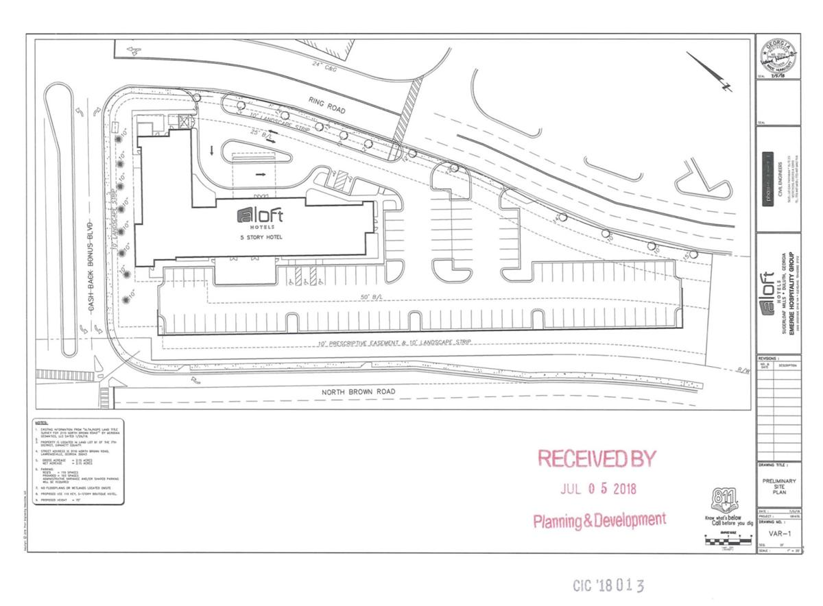 Aloft Hotels Location Proposed For Site At Sugarloaf Mills News Gwinnettdailypost Com