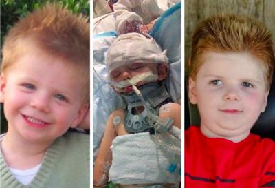 Tripp Halstead, family mark four-year anniversary of accident by thanking first responders