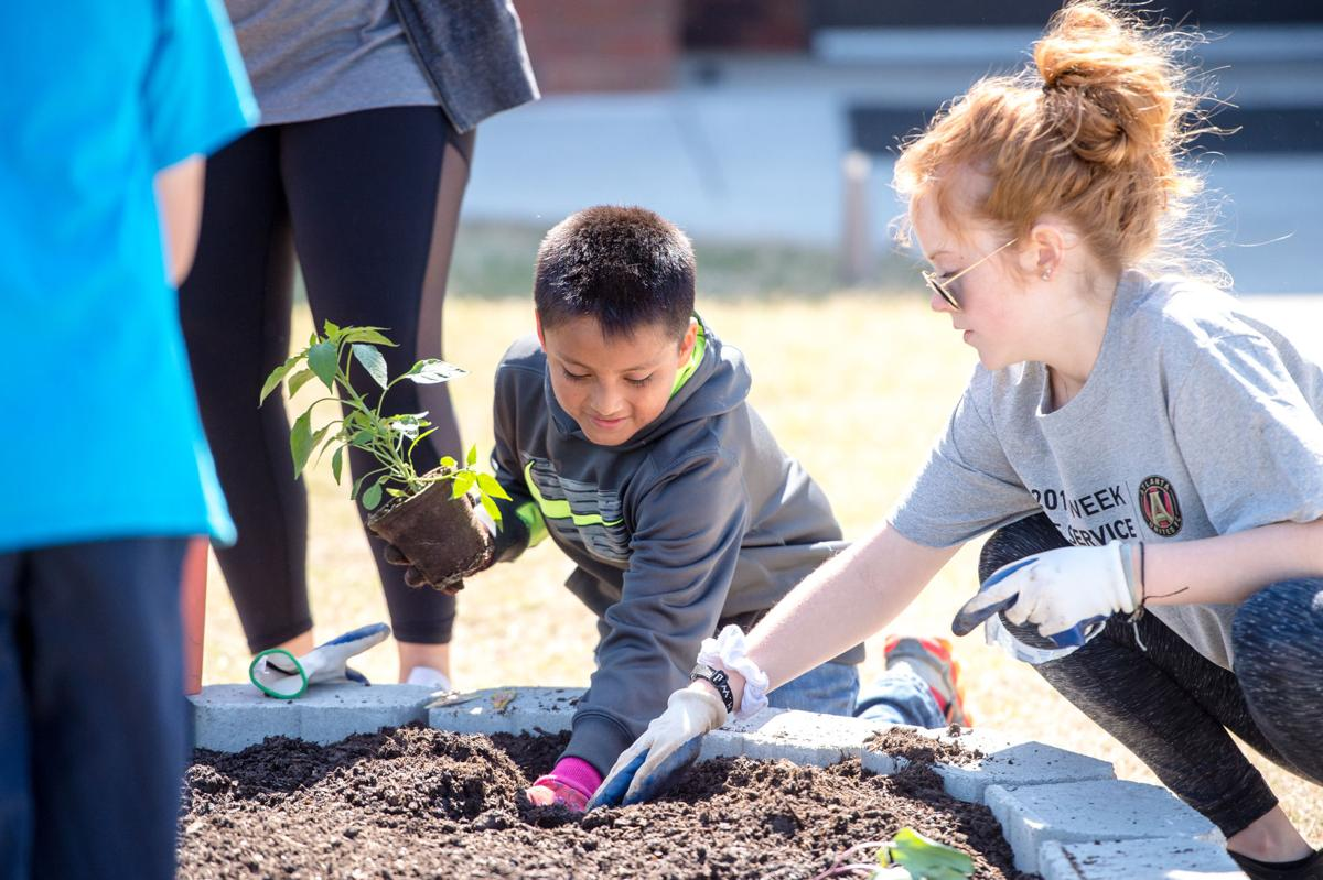 Atlanta United, Graves Elementary team up for learning garden planting