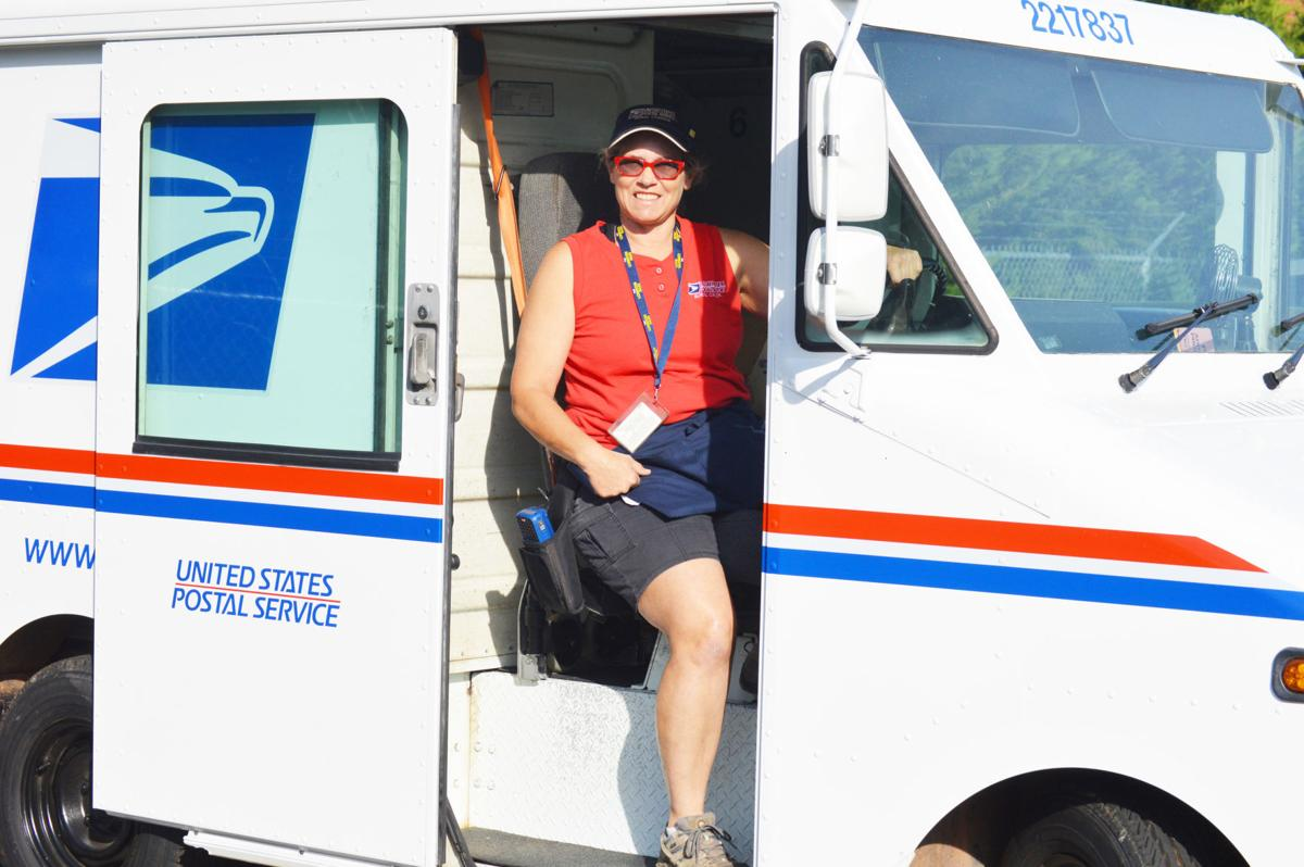 A million miles and accident free for this local postal worker ...