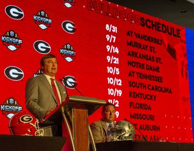 Uga Football Schedule 2020 Georgia Bulldogs' 2020 football schedule released | Sports