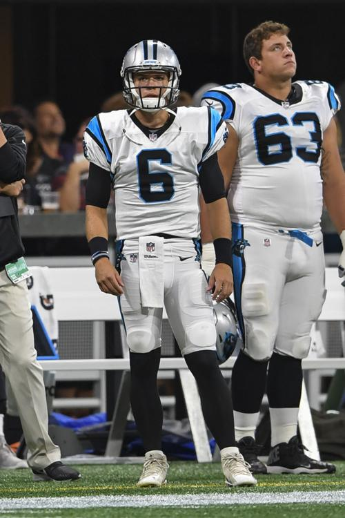 6598ee191 Collins Hill grad Taylor Heinicke now on solid NFL ground as Cam Newton s  backup with the Carolina Panthers