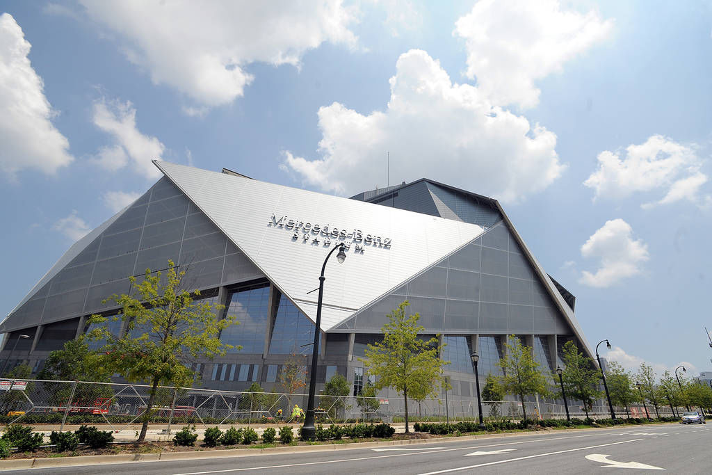 mercedes benz stadium preparing to wow fans with tasty