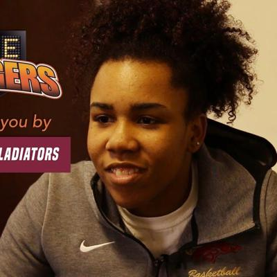 GAME CHANGERS: Brookwood basketball player Alea Spears