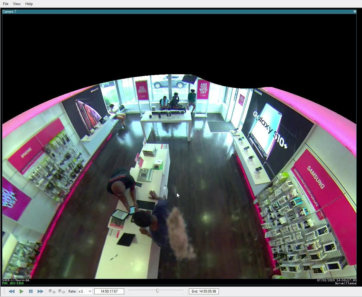 WATCH: Security camera catches man stealing two new iPhones