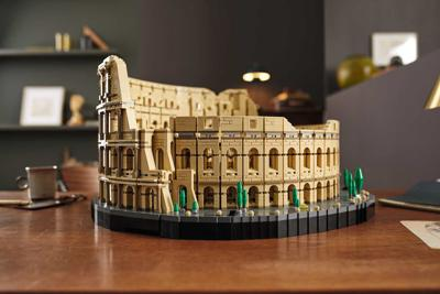 Lego rolls out Colosseum, a model of the Roman amphitheater with over 9,000 pieces