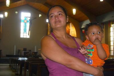 Mother, children move into Lilburn church after deportation order   PHOTOS