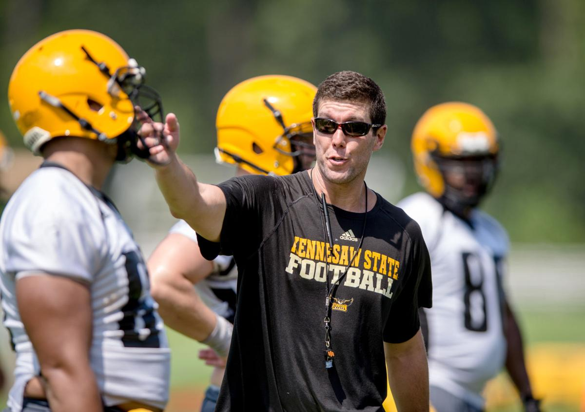 Brookwood grad Grant Chesnut well suited for his job as KSU's offensive coordinator