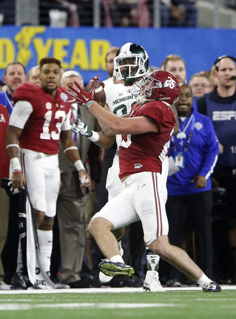Alabama Shuts Out Michigan State Cruises To Final College - Cruises out of alabama