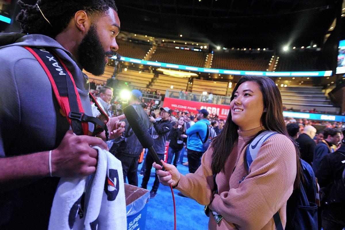 Super Bowl trip a blast for Peachtree Ridge alum, Rams social media specialist Jamie Han