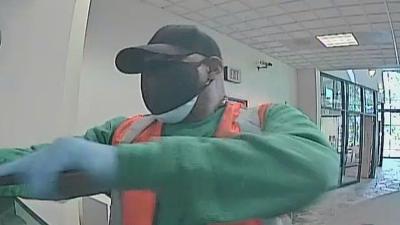 FBI looking for man accused of robbing banks in Gwinnett County, firing gun in general direction of tellers