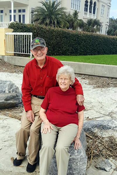 ANNIVERSARY: Harold and Polly Landress