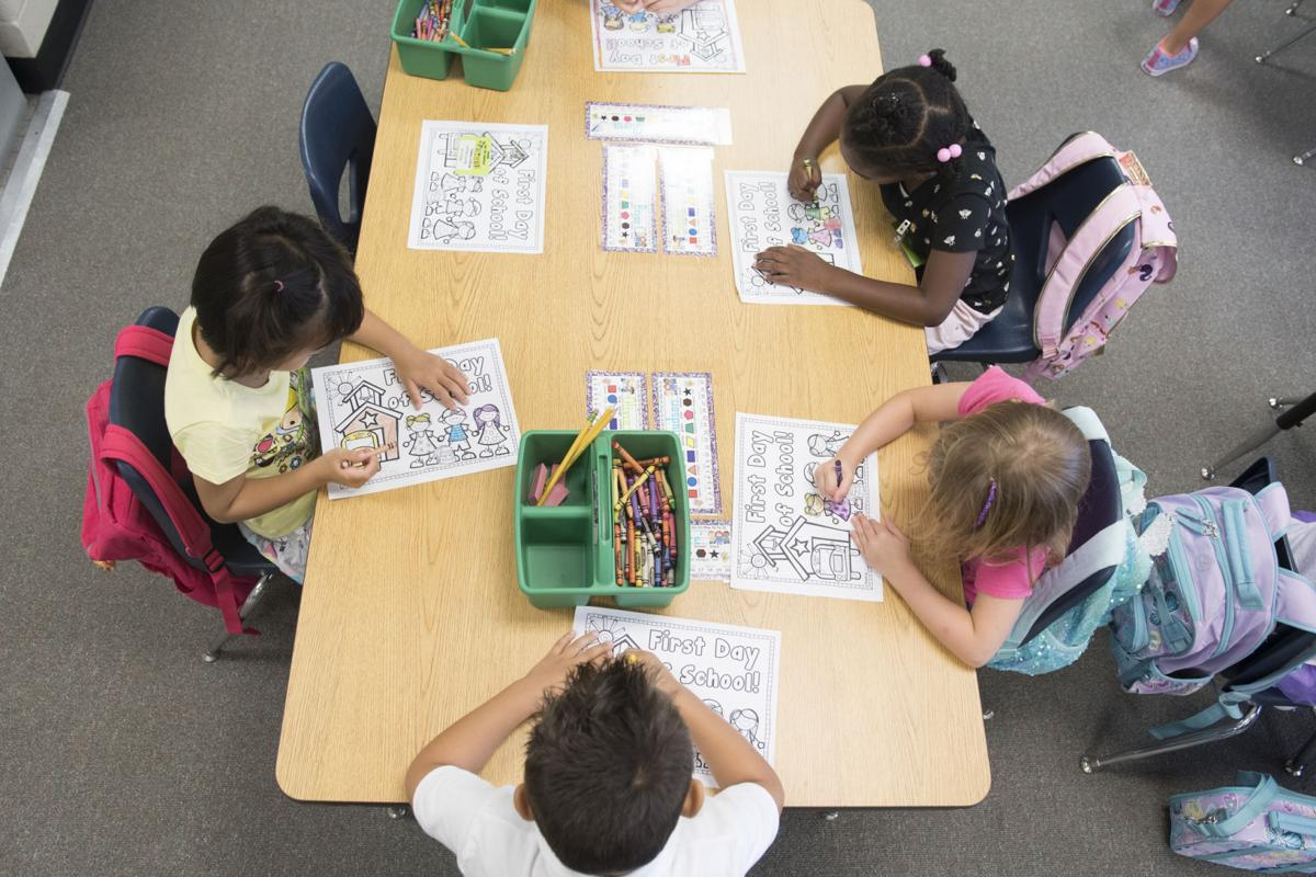 New school, language program highlight first day of school for GCPS