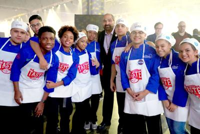 GOOD NEWS FROM SCHOOLS: Meadowcreek, Maxwell culinary arts students participate in Taste of the NFL