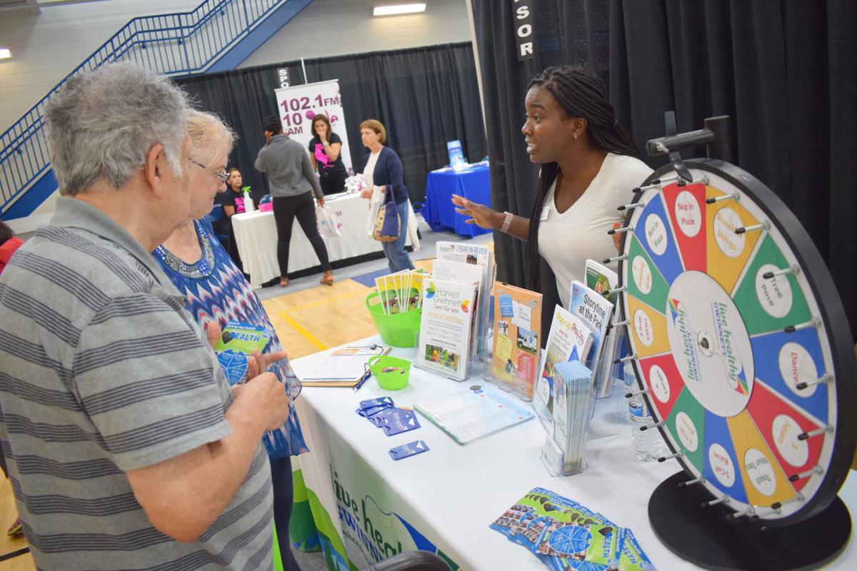 Live Health Gwinnett at community Health Fair