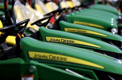 Deere says government stimulus is helping American farmers