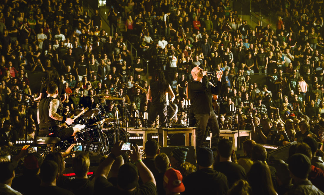 Rock band Disturbed visiting Duluth this fall for Evolution Tour