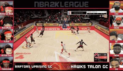 Photo 1 - Game 2 - Hawks Talon vs Raptors Uprising - 2K League Regular Season - Credit - NBA 2K League.png