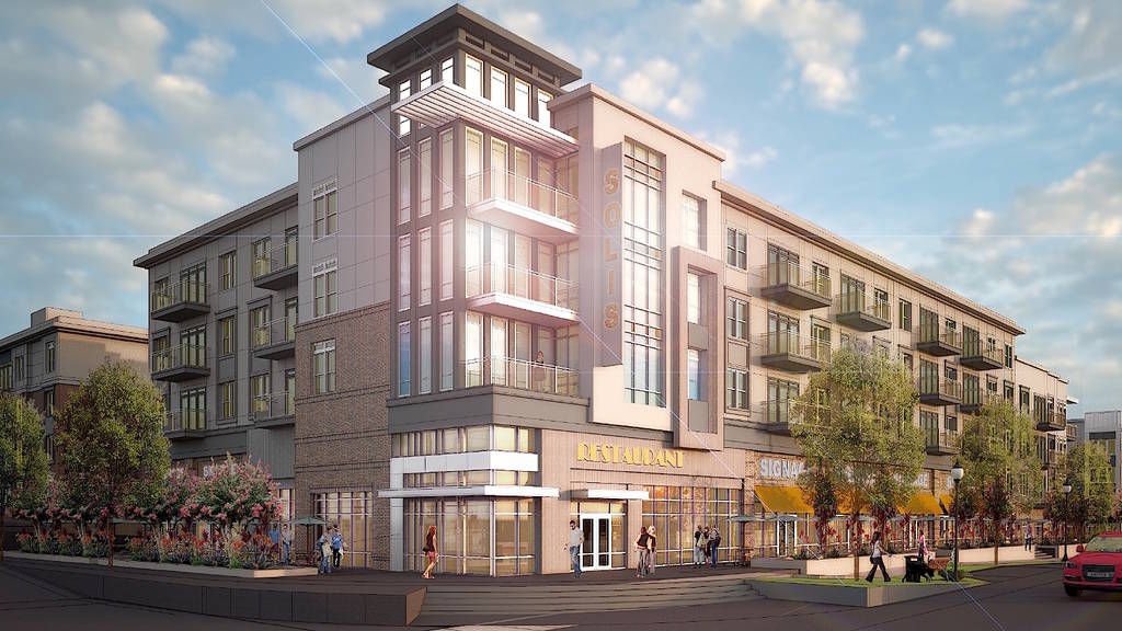 Suwanee breaks ground on Solis Town Center development