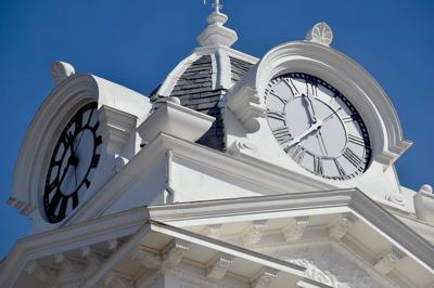 Historic Courthouse Clock