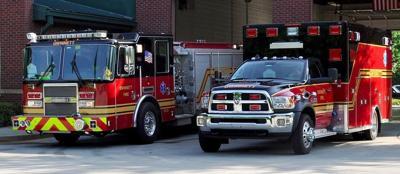 Fire engine truck and ambulance file photo