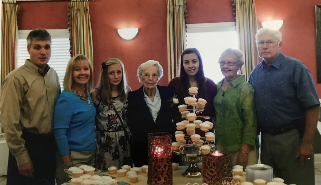 Lawrenceville Resident Martha Darsey Turns 102 Years Old