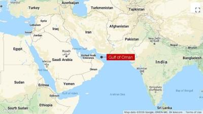 Two tankers struck in apparent attack in Gulf of Oman