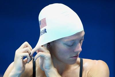 Natalie Coughlin, others wonder why Brookwood's Amanda Weir was left off Olympic finals relay