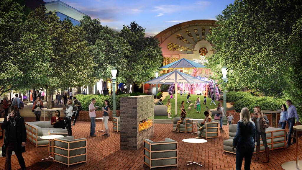 Mall Of Georgia Food Court Outdoor Village To Undergo
