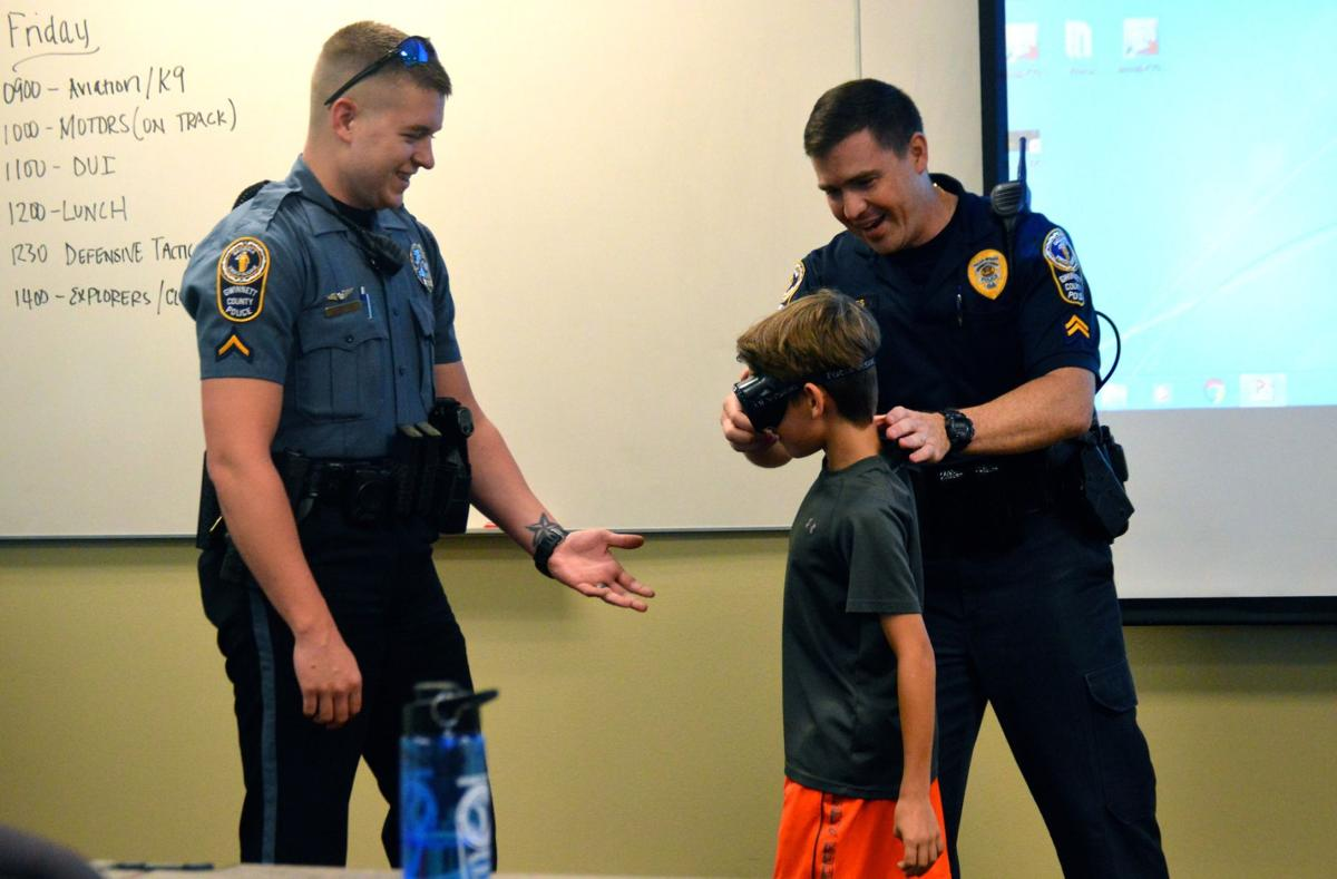 Third annual Gwinnett County Police Department Youth Police