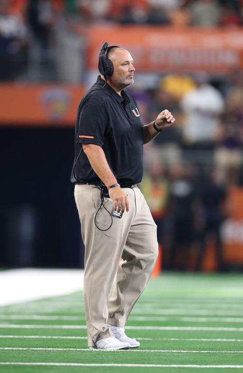 Longtime Buford Coach Jess Simpson After Stint With Falcons Returning To Miami Hurricanes Sports Gwinnettdailypost Com