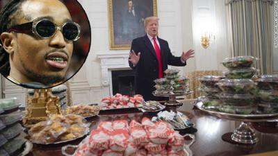 Migos rapper Quavo slams Trump dinner for Clemson Tigers; invites team to Atlanta