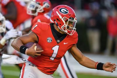 7184e9bb8b3 NCAA clears Georgia transfer QB Justin Fields for immediate ...