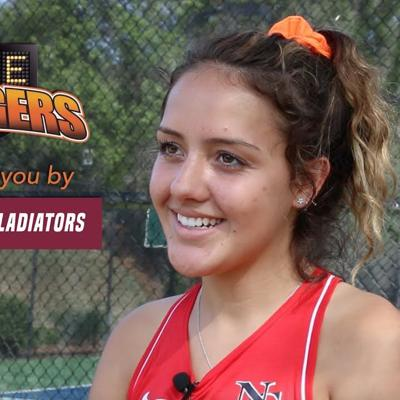 GAME CHANGERS: North Gwinnett tennis player Cassidy Rebol
