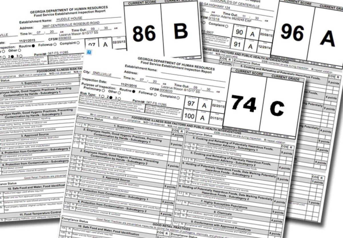 Weekly restaurant health inspections for March 5   News    gwinnettdailypost.com