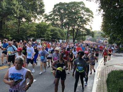 Nearly 60,000 participate in the 2018 Peachtree Road Race